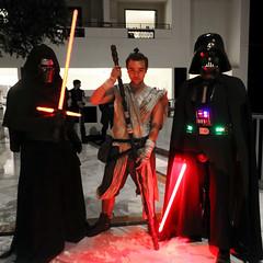 Kylo Ren, Gender-bend Rey, and Darth Vader