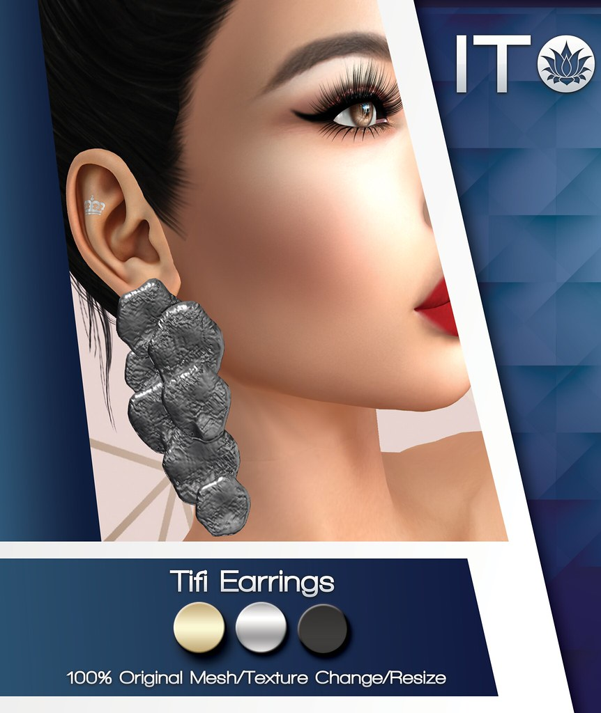 Tifi Earrings - TeleportHub.com Live!