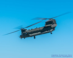 RAF CHINOOK HC.6 AGAINST THE BLUE