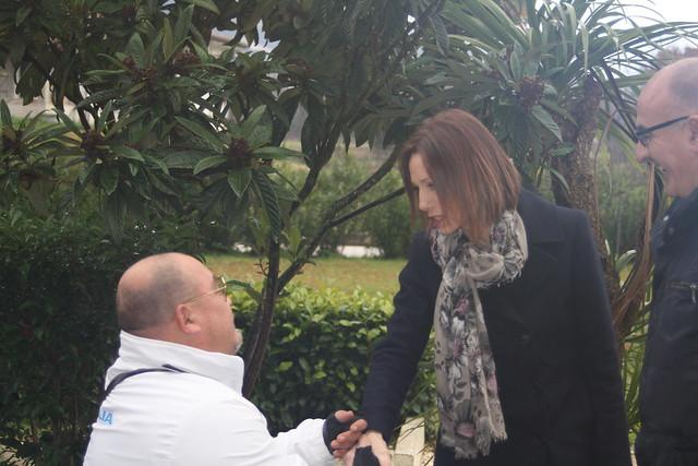 Valentina Vezzali in Comunità Gennaio 2018