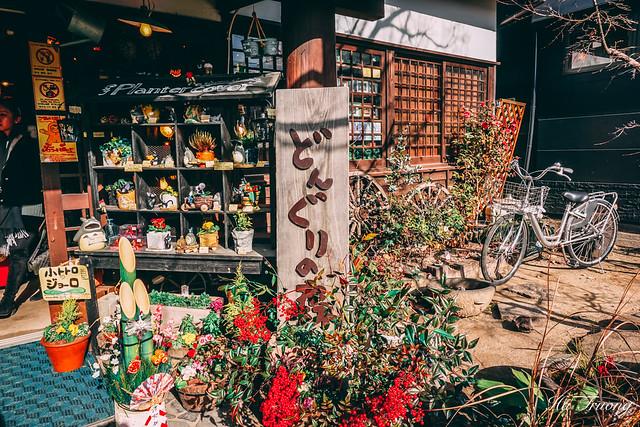 Totoro shop in Yufuin