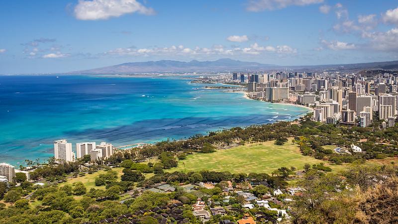 Diamond Head - Honolulu -Oahu - Hawaii