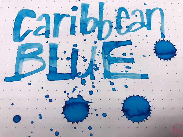 Ink Shot Review Monteverde Caribbean Blue @MonteverdePens @KnightsWritingC 10