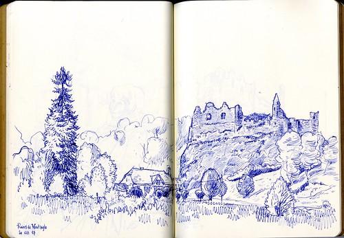 Château (ruines) de Montaigle