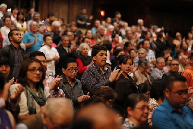 Marimba Femenina de Concierto y Ballet Moderno y Folklórico celebran al Instrumento Nacional