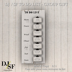 DJ SF To Do List - ad