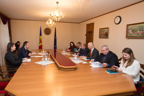 14.02.2018 Întrevedere Andrian Candu cu Suma Chakrabarti, președintele Băncii Europene pentru Reconstrucție și Dezvoltare