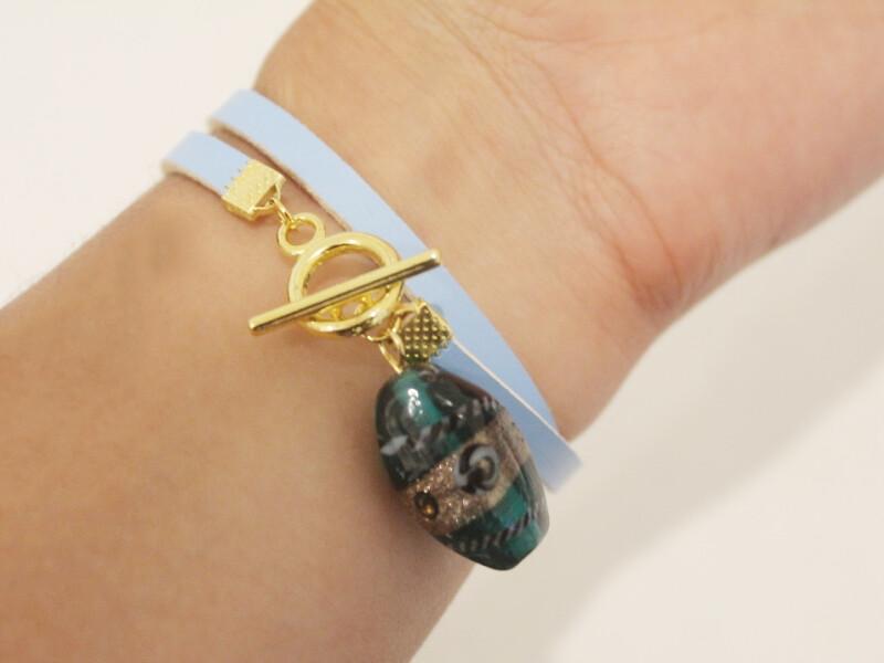 wearing as bracelet 1