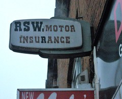 RSW Motor Insurance Ghost Sign Streatham London 03/03/18.