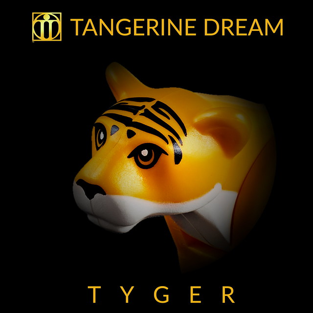 Tangerine Dream - Tyger (LP/Single Cover Art)