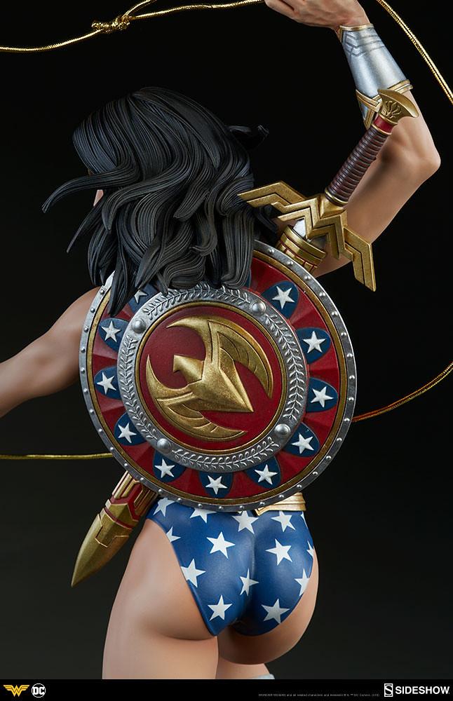 既優美又強悍的女神~! Sideshow Collectibles Premium Format Figure 系列 DC Comics【神力女超人】Wonder Woman 1/4 比例全身雕像作品