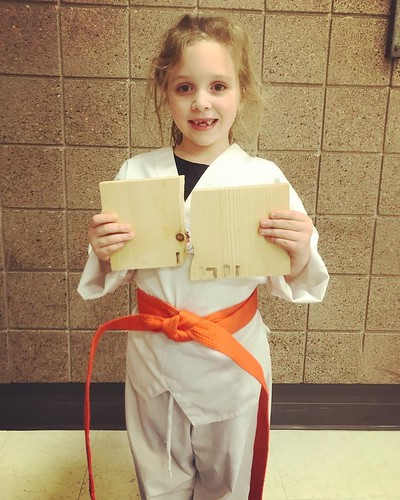 Ms. Kira Sahr-Tangen performed very well this evening on her color belt test. Great Job Ms. Kira on your new promotion! #nguyenschooltkd