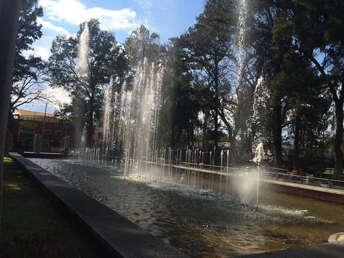 Fuentes Danzarinas (Parque Tres Centurias)