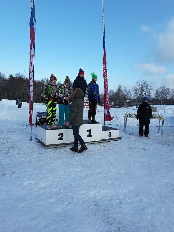 LČ skijoringā un ziemas motokrosā. Apbalvošana. (04.02.2018./Stāmeriena)