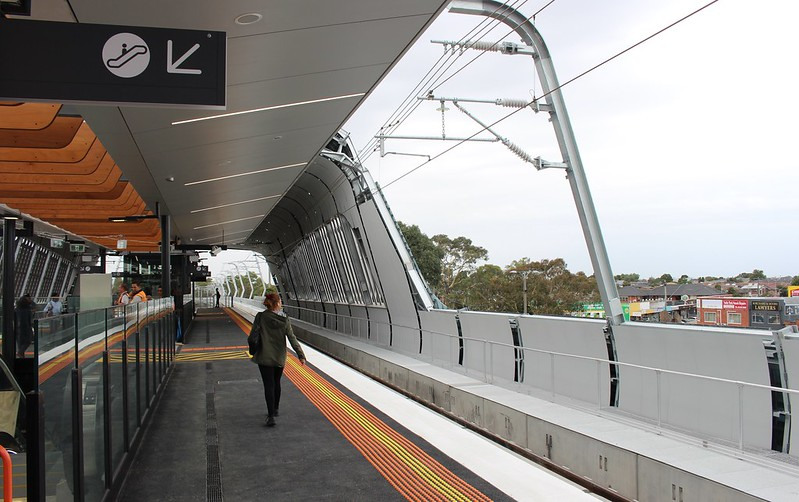 New Noble Park station