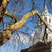 Clock tower   Holy Trinity Clapham   Clapham Common   Feb 2018-7