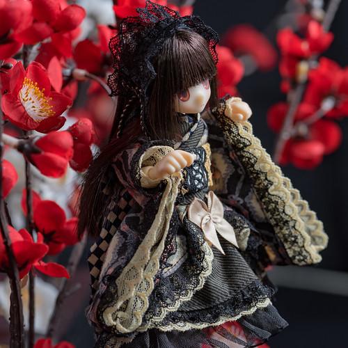Japanese Kimono Gothic Style