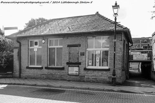 Littleborough Railway Station.