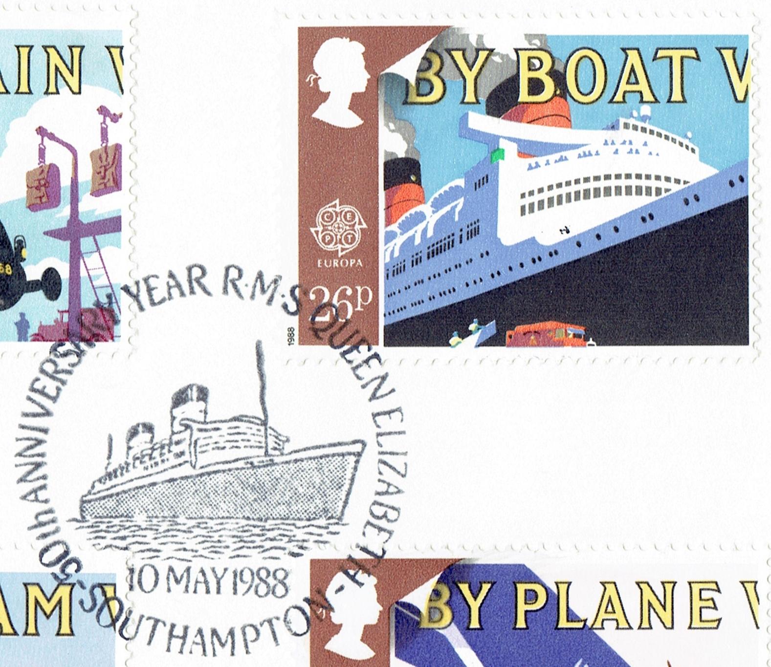 Great Britain - Scott #1214 (1988)