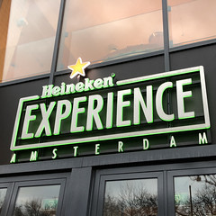Heineken Entrance Sign