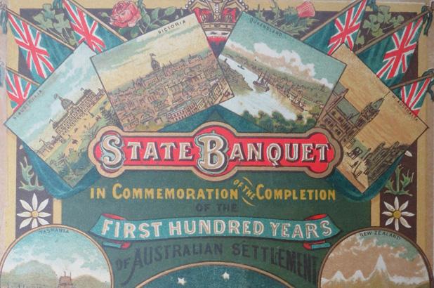 100th anniversary celebration of Australian settlement, January 26, 1888
