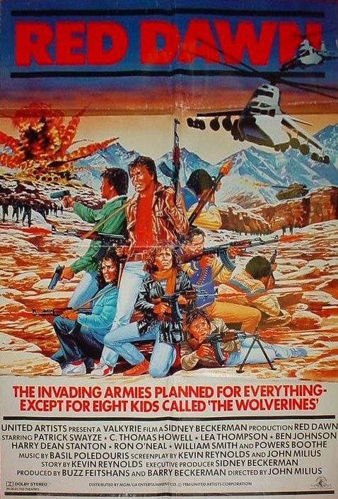 Red Dawn - 1984 - Poster 3