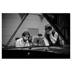 @daniil_trifonov and Mikhaïl Pletnev, during the @dgclassics recording of Chopin Evocations, Dortmund . #xpro2 #fujixpro2 #fujifeed #fujifilm #fujilove #myfujilove #fujifilm_xseries #fujifilmusa #fujifilmnordic #fujifilmme #fujifilm_uk #twitter #piano #st