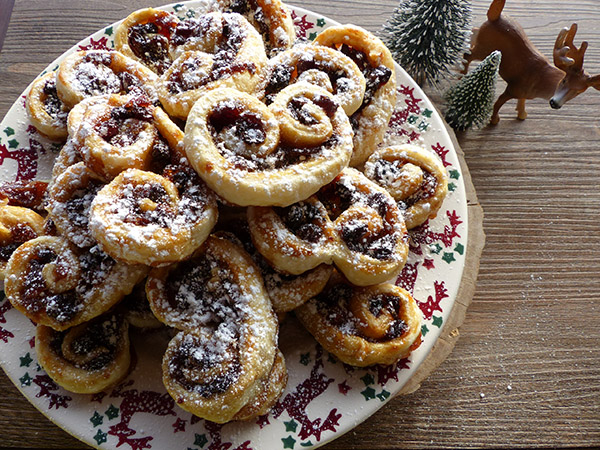 mince pies palmiers