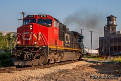 IC 2716 | GE C44-9W | CN Memphis Subdivision