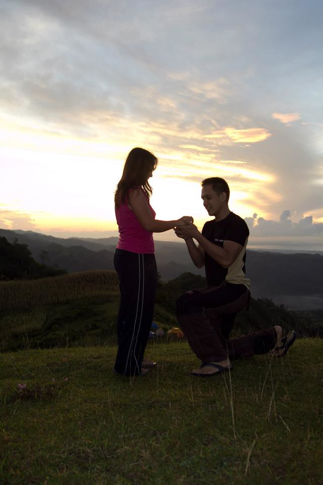 sweethearts at Mt. Naopa