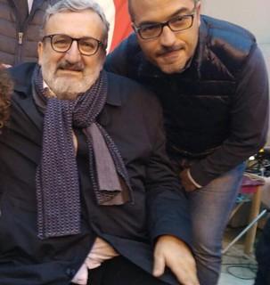 Gravinese e il governatore di Puglia Michele Emiliano