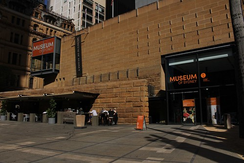 Museum of Sydney - part of an historical scavenger hunt! From Discovering the Hidden History of Sydney