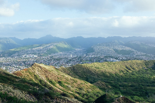 "Image titled ""From Diamond Head, O'ahu."""