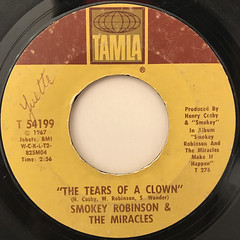 SMOKEY ROBINSON & THE MIRACLES:THE TEARS OF A CROWN(LABEL SIDE-A)