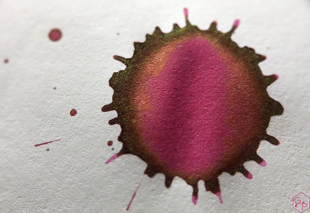 Ink Shot Review @LAMY Vibrant Pink 2018 Ink @laywines 26