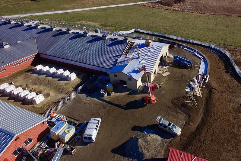 Kellog construction progress