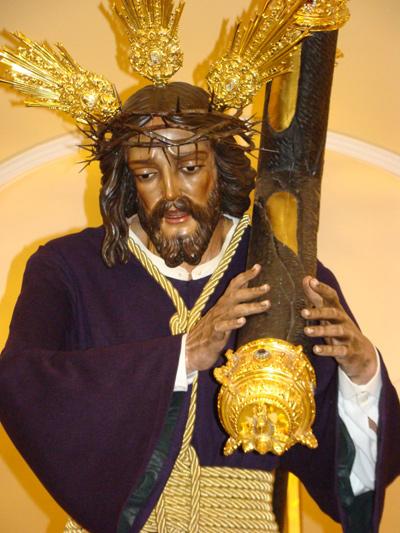 Fervorosa Hermandad y Cofradia de Nazarenos de Nuestro Padre Jesús del Gran Poder,María Santísima del Mayor Dolor y Traspaso y San Juan Evangelista. (Dos Pasos).