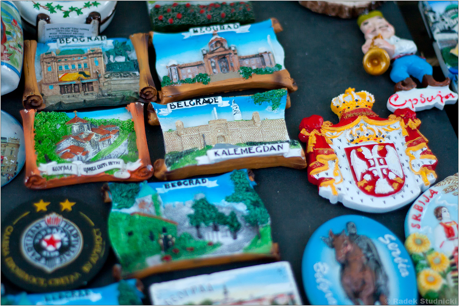 Pamiątki z Belgradu