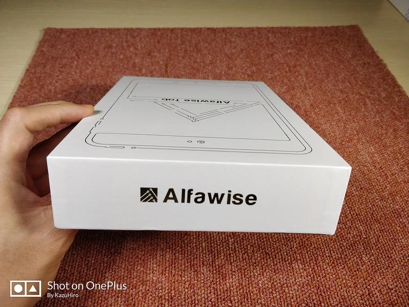 Alfawise Tab 開封レビュー (4)