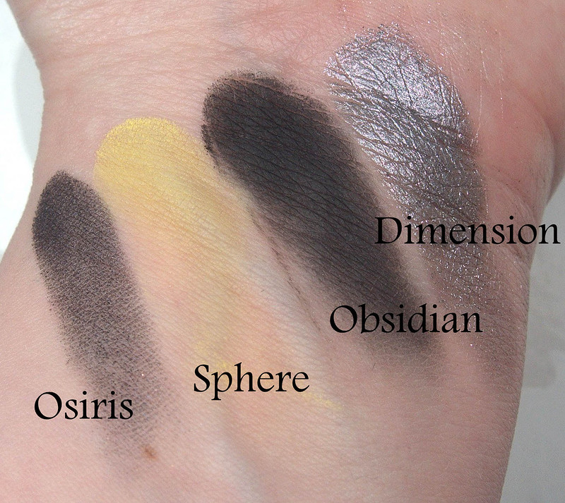 Anastasia Beverly Hills Prism swatches