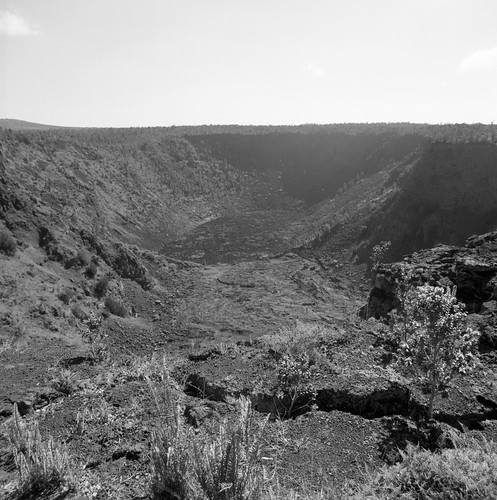 "Image titled ""Crater, Volcano National Park."""