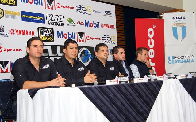 Conferencia de Prensa Moto Enduro