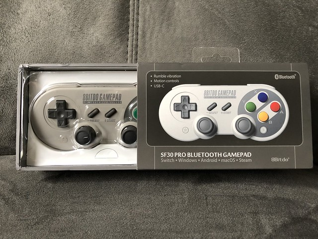 SF30 Pro - 8Bitdo - unboxing