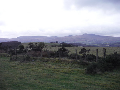 Waun Rydd to Corn Du, from Battle Hill