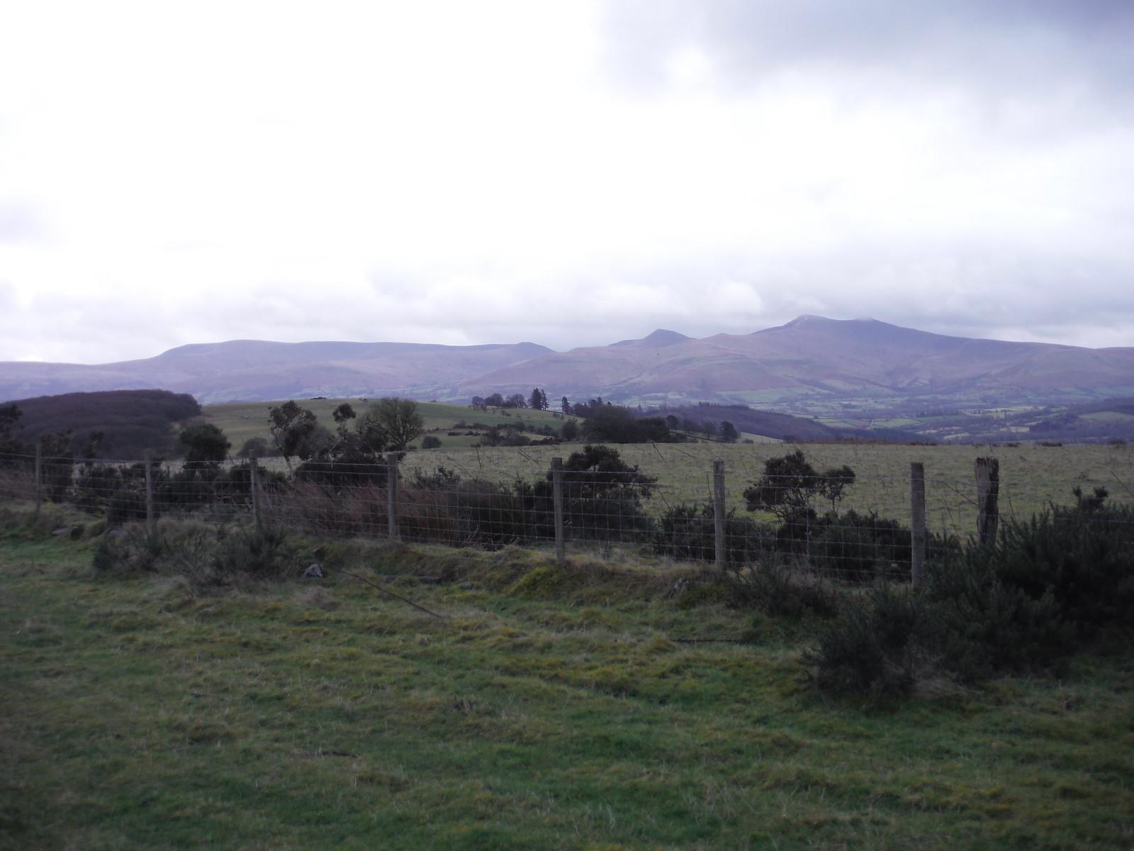 Waun Rydd to Corn Du, from Battle Hill SWC Walk 306 - Brecon Circular (via Y Gaer, Battle and Pen-y-crug)