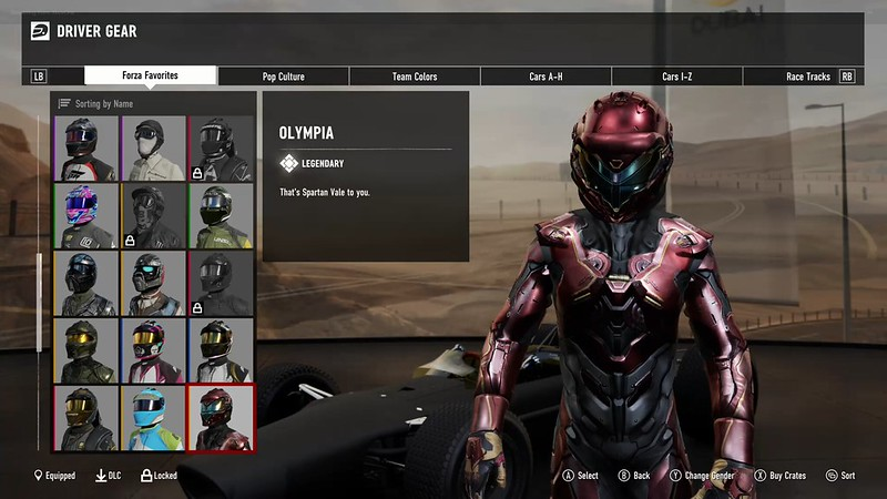 driver gear character customization feature page 11 forza
