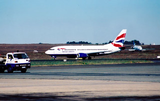 British Airways (Comair) B737-376 ZS-OKB