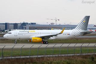 EC-MVE Airbus A320 Vueling