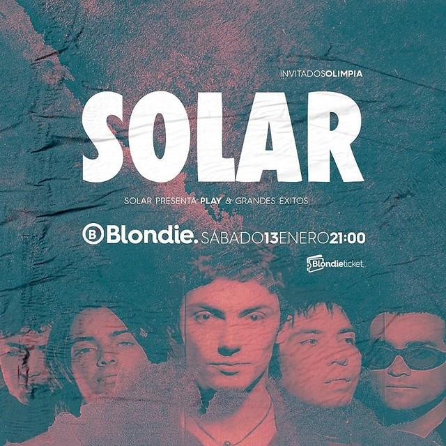 Solar en Blondie 13 enero