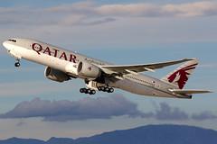 Qatar Airways | Boeing 777-200LR | A7-BBI | Los Angeles International